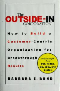 Cover of: The outside-in corporation | Barbara Bund