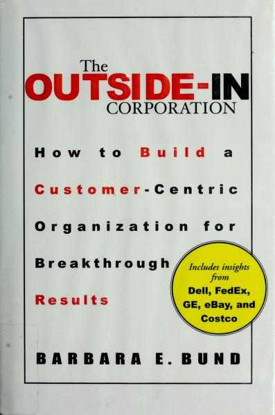 The outside-in corporation by Barbara Bund